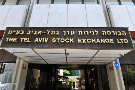 TEL AVIV, ISRAEL MAY 09: Tel Aviv Stock Exchange on May 09 2010, TASE building in Tel Aviv, Israel.