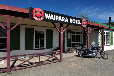 nz: WAIPARA,NZ - MAR 05:Remot hotel in the south island of NZ on Mar 02 2009.New Zealand was voted the  best travel destination by Lonely Planet two years in a row. Editorial