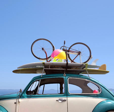 Summer holiday road trip vacation, Travel concept with copy space