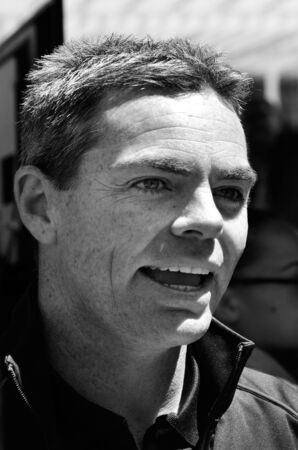 craig: AUCKLAND - NOV 05 2015:V8 Supercars champion driver Craig Lowndes meet Motorsport fans in Auckland, New Zealand. Editorial