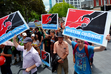 contributes: AUCKLAND - NOV 28 2015:Thousands rally for action on climate change around New Zealand.The United States constitutes 5 of the world population and contributes to 22 of worlds carbon emission