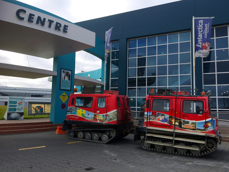 programmes: CHRISTCHURCH - DEC 09 2015:International Antarctic Centre. Its significant tourist attraction and the Centre is home to the New Zealand, United States and Italian Antarctic Programmes