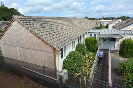 war refugee: Auckland, New Zealand - February 21, 2016: A general view of the Mangere Refugee Resettlement Centre.New Zealand annual intake is 750 refugee but accepted extra 600 people fleeing war in Syria.