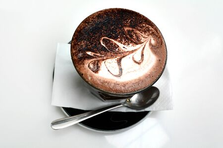 Hot chocolate, hot cocoa drinking beverage