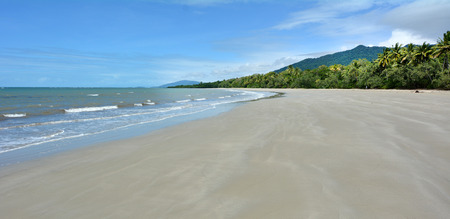 tribulation: Panoramic landscape view of Cape Tribulation in Daintree National Park in the far tropical north of  Queensland, Australia