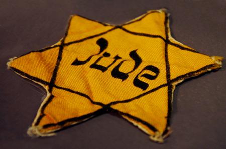 jewish: Yellow Jewish badge of shame.