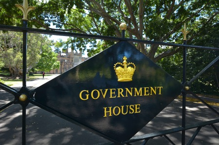 new south wales: The Government House in Sydney New South Wales, Australia Stock Photo