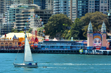 Luna Park Sydney in Sydney New South Wales, Australia.