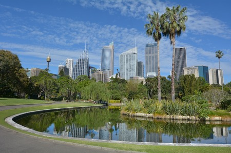 new south wales: The Royal Botanic Gardens in Sydney New South Wales, Australia.