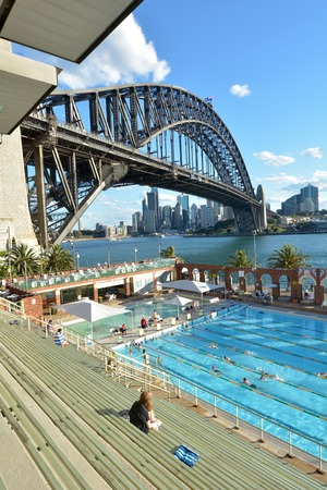 public swimming pool sydney oct 18 2016 people swim in north sydney olympic