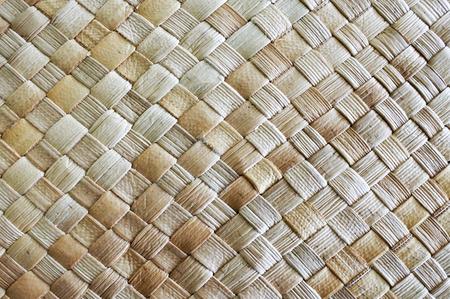Fijian Kokosnotenpalm laat het weven achtergrond en textuur.