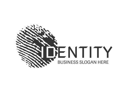 Finger print identity.