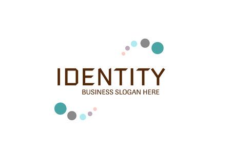 Identity slogan. 矢量图像