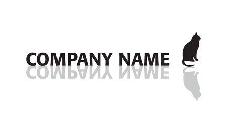 Corporate name slogan. 矢量图像