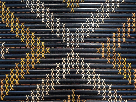 Maori weaving artwork. Abstract background and texture
