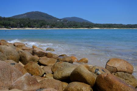 Wild landscape of south west rocks new south wales Australia