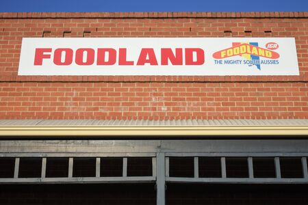 Adelaide, South Australia - May 14 2019:Foodland Supermarket. Foodland is an Australian supermarket brand with 120 locations, primarily in South Australia, but also in the Northern Territory.