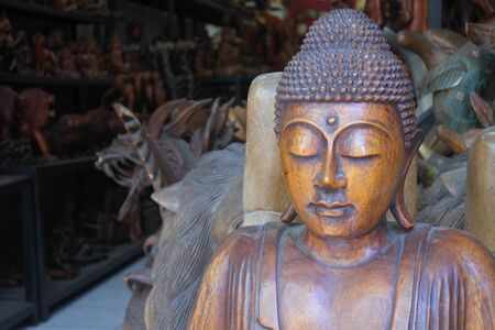 Buddha statue sculpture in Bali Indonesia.Buddha statue sculpture in Bali Indonesia. Buddha was a monk, mendicant, sage, philosopher, teacher and religious leader on whose teachings