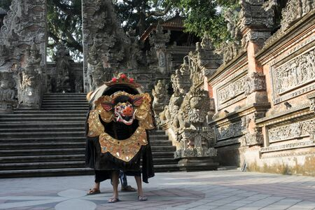 Barong Dance. Barong is a panther-like creature and character in the Balinese mythology of Bali, Indonesia.Barong dance represent the eternal battle between good and evil.