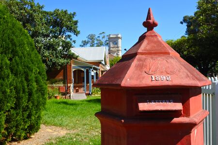 An old post box in Guildford near Perth, Western Australia.