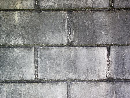 더러운 회색 촉촉한 벽돌 벽 배경 총 스톡 콘텐츠 - 56667213