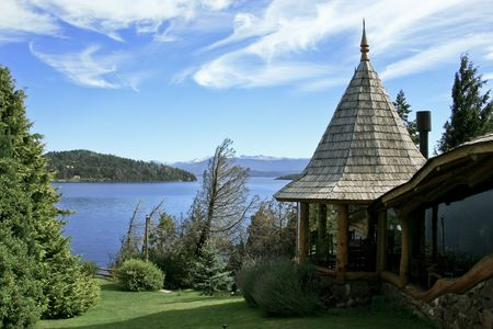 a house by the lake photo