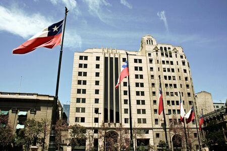 santiago: office building in Santiago, capital of Chile