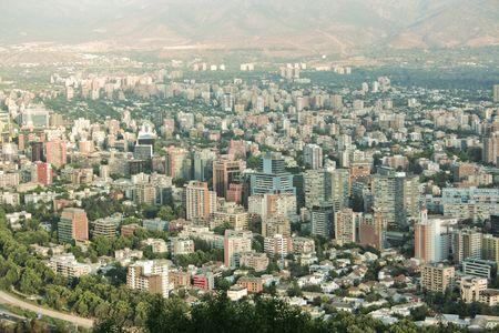 populous: populous city of Santiago, Chile