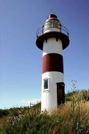 lighthouse in the city of Vald�via , Chile photo