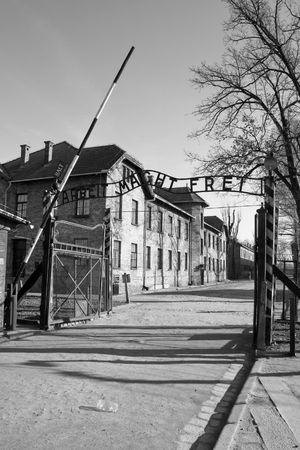 The concentration camp of Birkenau near Cracow in Poland Stock Photo - 3875428