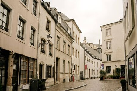 old town of Luxembourg in the heart of western Europe photo