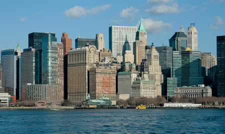 Office Buildings and skyscrapers of New York City photo
