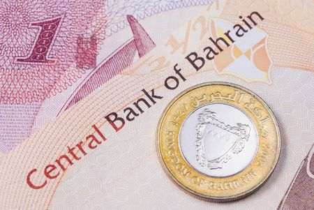 bahrain money: Kingdom of Bahrain currency banknotes and coin