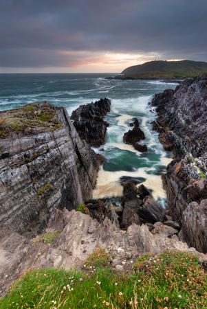 co cork: High cliffs on Atlantic coast in Crookhaven Co. Cork Ireland