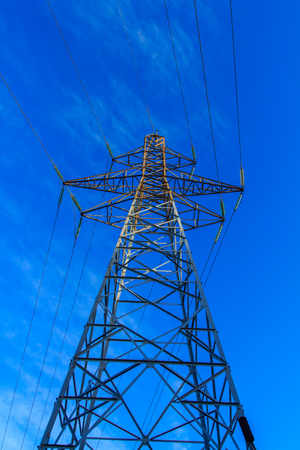 The conductive iron of electricity: a large tower