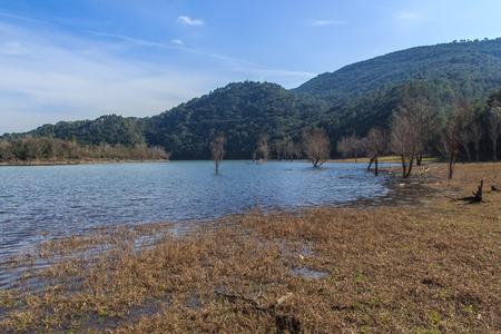 La grandeza del gran lago antes que yo Foto de archivo - 84265985