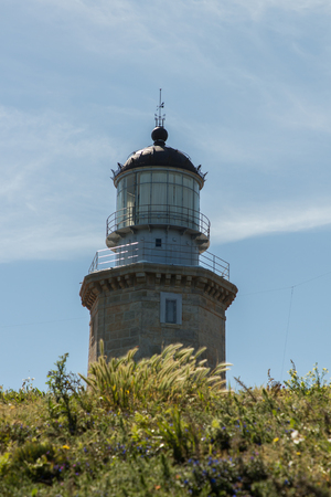 The modern Matxitxako lighthouse