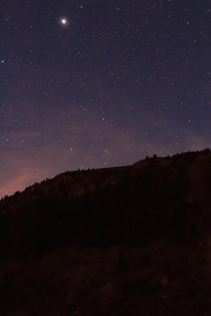 Nocturne from the ski slopes of La Molina