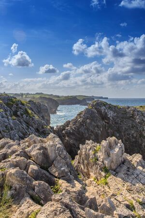 Los acantilados singulares de las costas de Cantabria