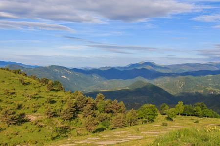 Route: Comanegra and Pic de les Bruixes Foto de archivo - 112325569