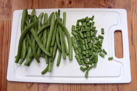 haricot vert: green beans