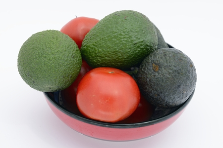 flavorsome: avocado pear and tomatoes