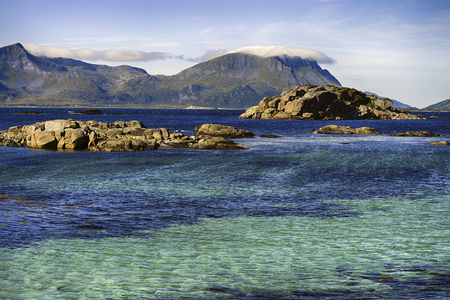 lofoten: lofoten islands landscape Stock Photo