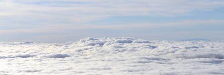 cloudscape panorama Stock Photo