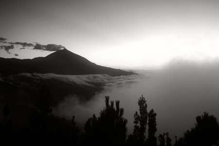 teide cloudscape