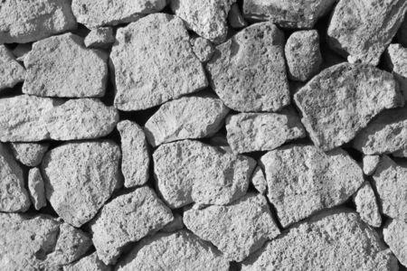 cobblestone: texture of cobblestone wall