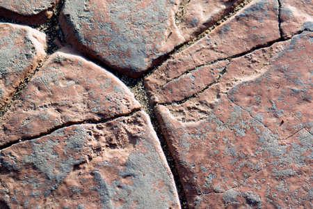 texture of cobblestone wall