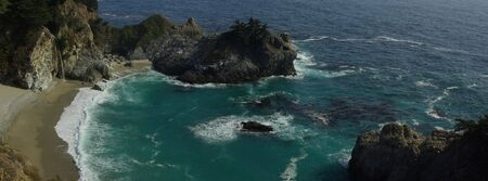 sur: Big Sur beach panorama