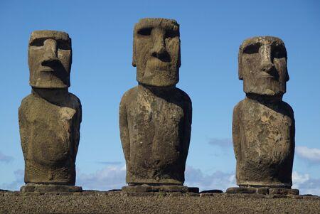moai: Estatuas de la isla de Pascua