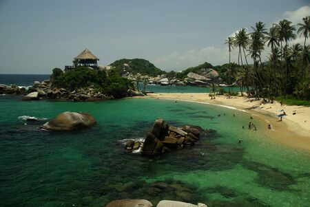 carribean: Cabo de la Vela in Tayrona National Park on the Carribean Coast of Colombia